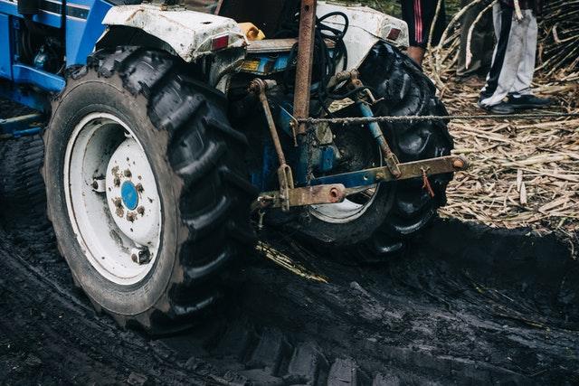 Strahlmittel für Landwirtschaftsfahrzeuge