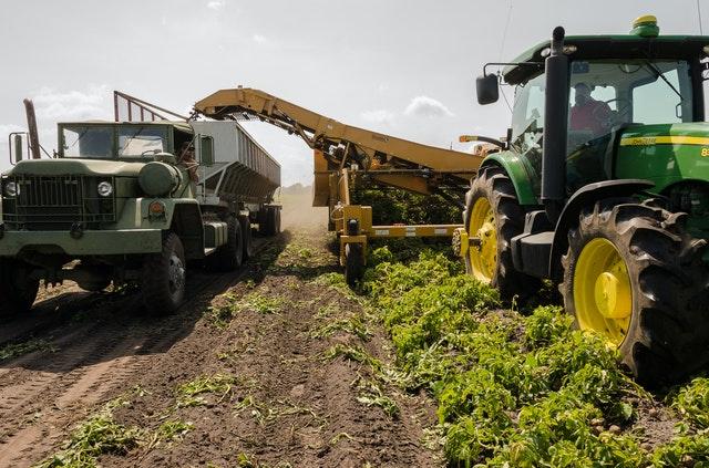 Trockeneisstrahlen für die Landwirtschaft