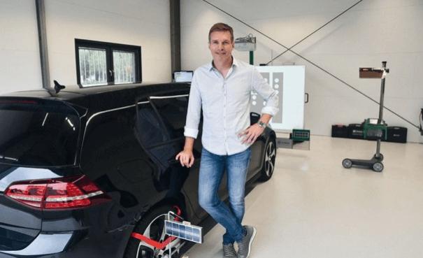 Frank Gerardy - Geschäftsführer und Innhaber von Gerardy Strahltechnik